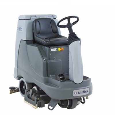 BR855 Industrial Ride-On Scrubber Dryer
