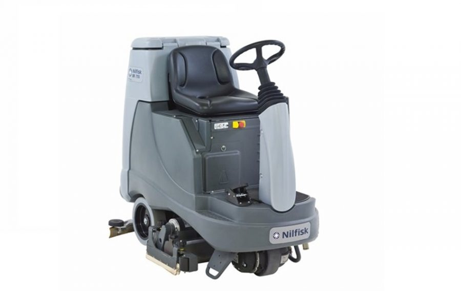 BR855 Industrial Ride-On Scrubber Dryer