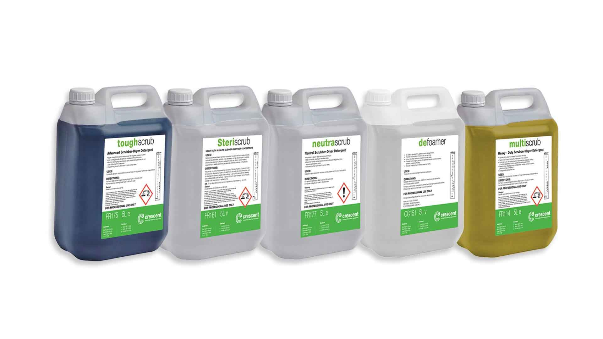 Industrial Heavy Duty Floor Cleaning & Sanitising Detergents
