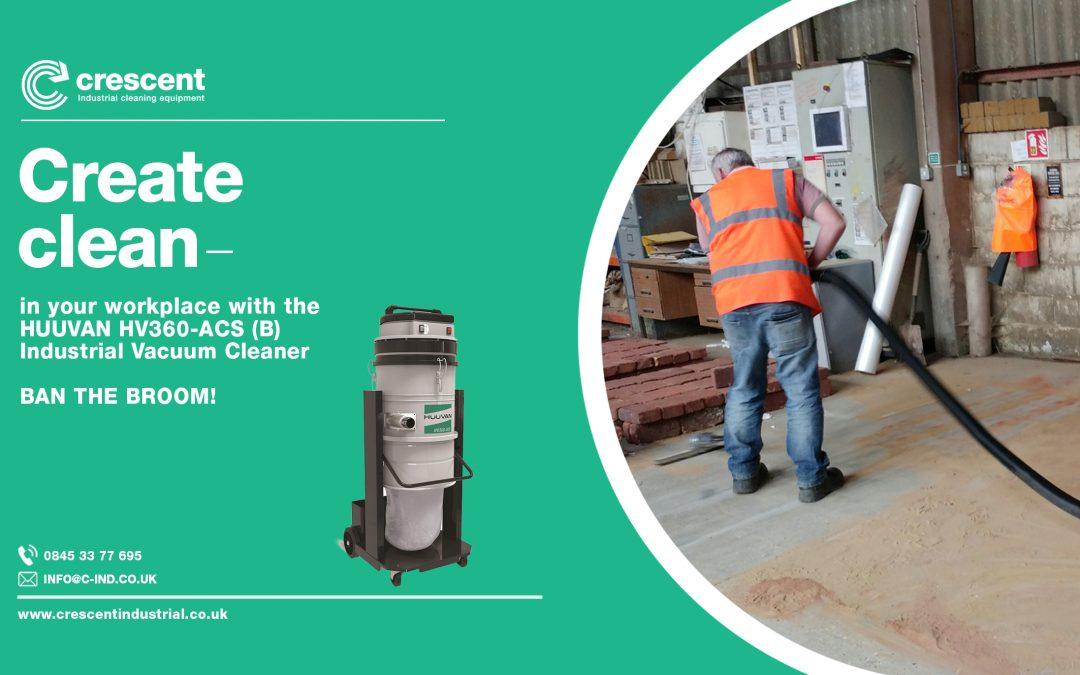 Sweeping up brick dust, cement dust & hazardous silica dust in brick factories