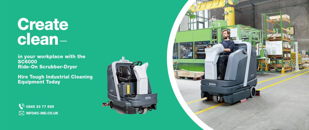industrial warehouse & factory floor cleaning machines